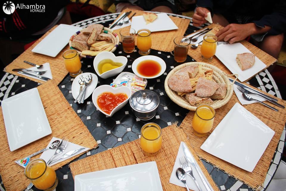 Un petit déjeuner...