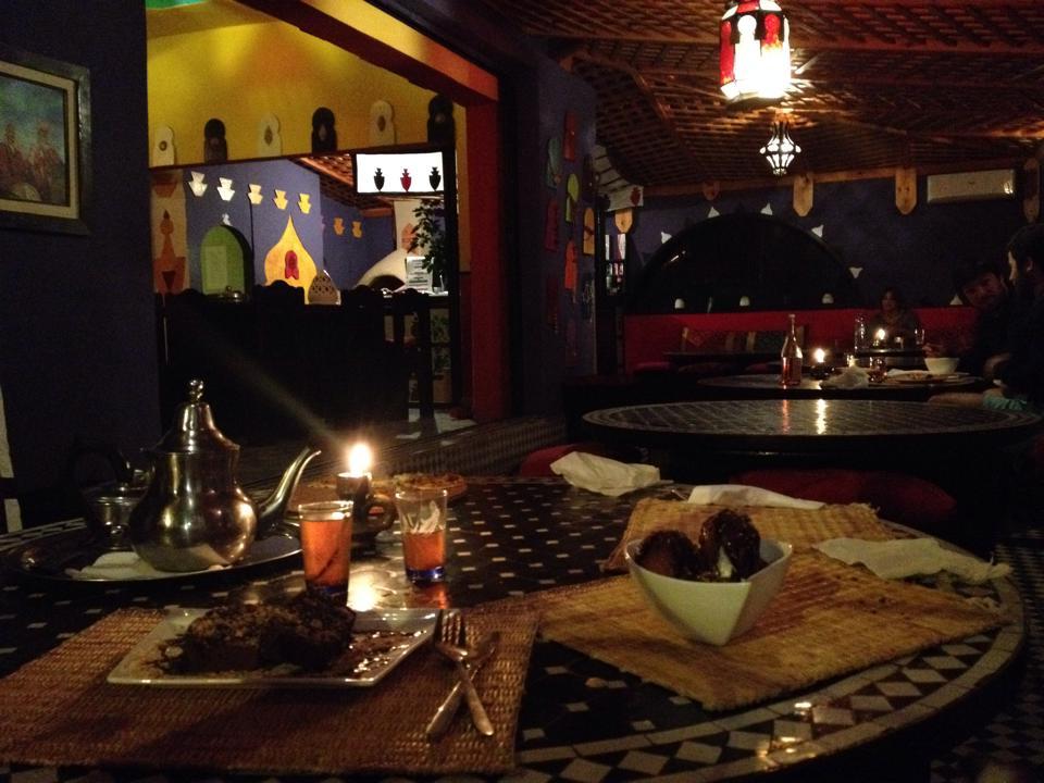 Un dîner...